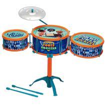 Bateria Infantil Musical - Power Rockers - Fun -