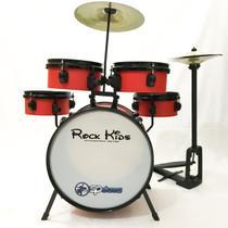 Bateria Infantil Rmv Rock Kids Com Chimbal -