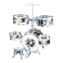 Bateria Infantil Rock Party Com Banquinho DMT5367 - DM Toys