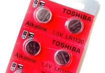 Bateria LR 1130 alkalina 1,5v cartela com 10 baterias toshiba -
