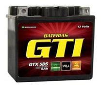 Bateria Moto Gel 5ah Titan Fan Ybr Factor Max 125 150 160 Mix Biz Bros Xre - Gti