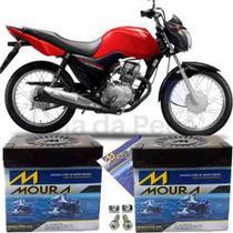 Bateria Moto Honda Cg 125 Titan Es  Moura Ma5d* -