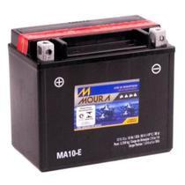 Bateria Moto Ma10-e Moura 10ah Honda PC 800 Pacific Coast VFR 800FI Interceptor -