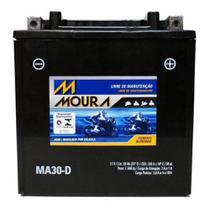 Bateria Moto Ma30-d Moura 30ah Polaris Diesel .445 Litre Primary FS Wide Track RZR -