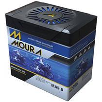 Bateria Moto MA5-D Moura 5ah Honda NXR Bros ES ESD EZ 90 CUB NH 80 Aero NPS 50 S Ruckus -