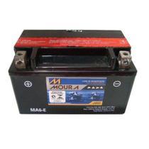 Bateria Moto Ma6-e Moura 6ah BRP DS450 Dafra Apache Kawasaki KLX400R KLX400SR -