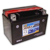 Bateria Moto Ma8-e Moura 8ah Honda NT650 Hawk GT TR 200 Fat Cat VFR 750R XR 650L -