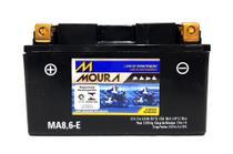 BATERIA MOTO MOURA SELADA 8,6Ah - R6 MT-09 CBR 650F CB 500 F CB 1000 R CB 600 HORNET CBR 600 RR 0101 -