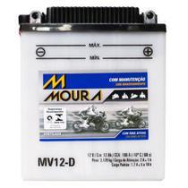 Bateria Moto Mv12-d Moura 12ah Honda CB550SC CB650SC Nighthawk Yamaha XT TENERE -