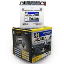 Bateria Moto Mv5-d Moura 5ah Suzuki T250 T250-II T250J T250R TS400 Apache SP600 -