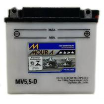 Bateria Moto Mv5,5-d Moura 5,5ah Yamaha AS2C DT R FACTOR YBR RD RDZ XS 1 YAS 1/C -