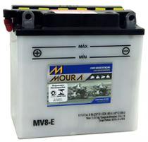 Bateria Moto Mv8-e Moura 8ah Arctic Cat EXT Prowler Wildcat MC Touring ZR EFI -