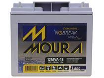 Bateria moura 12mva-18 estacionaria nobreak selada 12v 18ah -