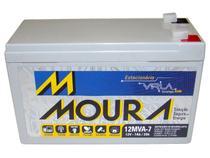 Bateria moura 12mva-7 estacionaria nobreak selada 12v 7ah -