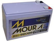 Bateria moura 12mva-9 estacionaria nobreak selada 12v 9ah -