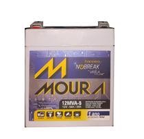 Bateria Moura 12v 5ah Moura 12MVA-5 -