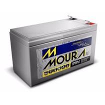 Bateria Moura 12v 7ah Nobreak Alarme Outros - Original