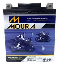 Bateria Moura 6ah Cb 300 Cb300 R Cb 300r Cb 300r Flex Ma6-d -