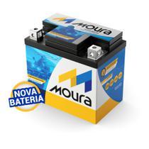 Bateria Moura 6Ah Moto 6 Meses De Garantia -