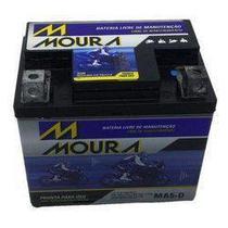Bateria Moura MA5D 125/150 Cg/titan/biz/nxr/bros/fan/xre300 -
