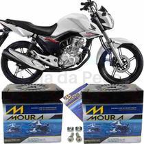 Bateria Moura Original Moto Cg 160 Fan Flex 2018 -