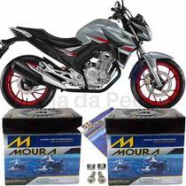 Bateria Moura Original Moto Honda Cb Twister 250 16 À 2018 -