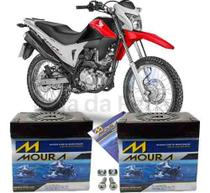 Bateria Moura Original Moto Honda Nxr 160 Bros 2015 À 2018 -