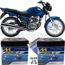 Bateria Moura Original Motocicleta Cg 150 Titan 2004 À 2015 -