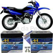Bateria Moura Original Motocicleta Nxr 125 Bros 2003 À 2015 -