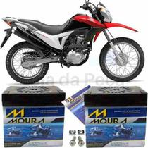 Bateria Moura Original Motocicleta Nxr 150 Bros Mix 06 À 12 -