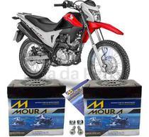 Bateria Moura Original Motocicleta Nxr 160 Bros 2015 À 2018 -