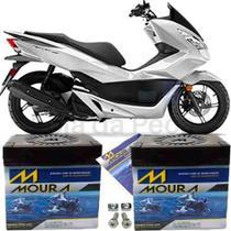 Bateria Moura Original Motocicleta Pcx 150 Dlx 2013 À 2018 -