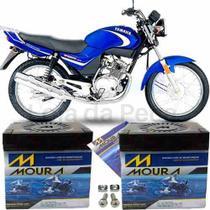 Bateria Moura Original Motocicleta Ybr 125 E 2000 À 2018 -