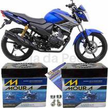 Bateria Moura Original Motocicleta Ys 150 Fazer 2014 À 2018 -