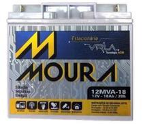 BATERIA MOURA SELADA 18Ah - BATERIA NOBREAK 18AH JETSKI CFTV ENERGIA SOLAR 0099 -