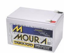 Bateria Moura VRLA 12Ah Estacionária Nobreak -
