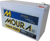 Bateria Moura VRLA 9Ah Estacionária Nobreak -