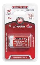 Bateria Mox 9V 450 mAh -