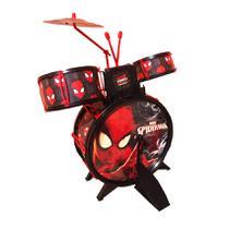 Bateria Musical Infantil Homem Aranha - Toyng -