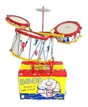 Bateria Musical Infantil Tabum - Media - 4 tambores - Tabum Brinquedos
