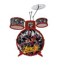 Bateria Musical Infantil Vingadores Toyng -