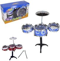 Bateria musical star meu ritmo colors na caixa wellkids - Wellmix