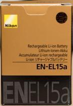 Bateria Nikon EN-EL15a para D7000, D7100, D7200, D600, D610, D750, D800, D810, D810A -