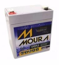 Bateria Nobreak Moura 12V 5A -