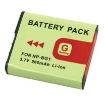 Bateria NP-BG1/FG1 960mAh para câmera digital e filmadora Sony Cyber-shot DSC-H10, DSC-W100, DSC-T20 - Para Sony