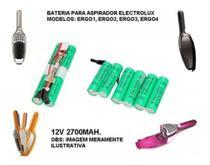 Bateria para aspirador de pó Electrolux ergo1 ergo2 ergo3 ergo4 2700mah - Flex