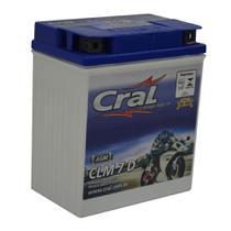 Bateria para moto selada 7Ah polo positivo direito - Cral