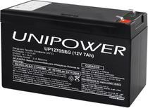 Bateria para nobreak interna selada 12V 7,0AH UP1270SEG - Unipower -