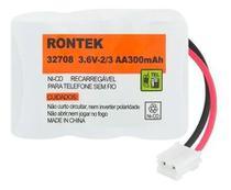 Bateria / Pilha p/ telefone s/ fio Motorola / VTech -- 3,6V 300Mah -- Rontek -