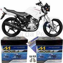 Bateria Pra Moto 125 Motocicleta Ybr 125 Factor 125 Moura -